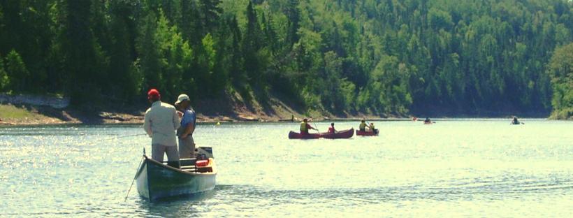 Rivière Bonaventure - Photo du Conseil de l'Eau Gaspésie sud